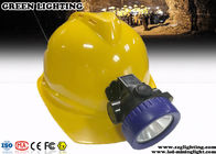 3.7V Rechargeable Miners Helmet Light 100000 Hours Life Span 4000 Lux Brightness