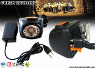 LCD Screen Safety Cordless Rechargeable LED Headlamp for Underground Miner