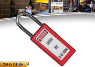 China ZC-G81 Safety Lockout Padlocks Long Body Steel Shackle Light Weight factory