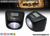 Portable IP68 4.5ah Battery Coal Miner Hard Hat Light 4500 Lux Strong Brightness