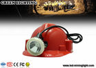 China LED waterproof mining cap lights with Li-ion battery , GL5LM-B 10000lux / 6.6Ah company