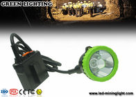 China Explosion Proof Underground Coal Mining Lights , Safety Hard Hat Headlamp 50000 Lux 5w Cree Led company