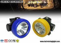China Outdoor Recreation Multi purpose LED hard hat headlamp , Miner Cap Lamp Hunting company