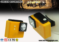 IP68 Safety Cordless Mining Headlamp / 18650 Li - Ion Battery Rechargeable Miners Headlamp
