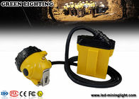 Explosion Proof Mining Hard Hat Led Lights 25000 Lux Strong Brightness Corded Style