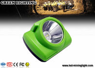 Waterproof LED Mining Light / Rechargeable Led Mining Headlamp 20 Hours Working Time