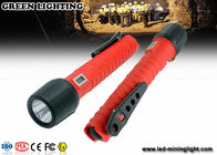 China 10W lithium ion battery explosion proof  torch , high power rechargeable LED flashlight factory