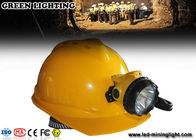 China 25000 Lux 12Ah Battery 3W LED Coal Mining Lights with 4 Levels Lighting company