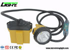 China Explosion Proof  IP 68 LED Mining Lamp with Security Cable Light , 28000 Lux Miners Cap Lamp factory