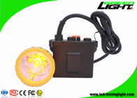 11.2Ah Rechargeable Safety Mining Cap Lights 50000lux Waterproof IP67