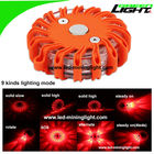 Portable Led Warning Light Waterproof Amber Emergency Roadside Flare