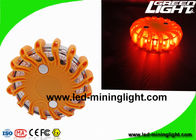 China Magnetic Rechargeable FRED Flashing Roadside Emergency Disc LED Warning Flare with Waterproof Impact Resistant factory