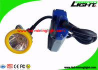 China 15000 Lux Brightest  Mining Hard Hat Lights 420g 6.6Ah Over - Charge Protection factory