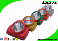 Customized Mining Hard Hat Lights 13000 Lux With Adjustable Stainless Steel Clip