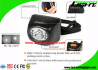 China 4.5Ah Digital Mining Cap Light Head Lamp IP67 With 18 Hours Lighting Working Time factory