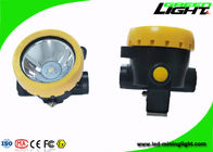 PC Meterial Cordless Mining headlights Yellow Wireless Intrinsically With 2.2ah Li - Ion Battery