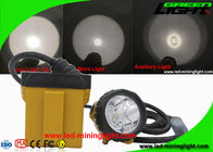 25000 Lux Waterproof Safety Coal Led Miners Cap Lamp With Cable Flash Light