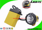 10.4Ah Miners Helmet Light High Low Beam Cree With Cable SOS Low Power Warning