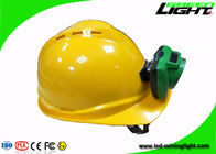 Portable LED Cordless Mining Hard Hat Led Lights 13000 Lux IP68 Lithium Lon Battery