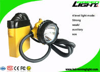 China IP68 Waterproof LED Mining Lights 10.4Ah Cable SOS Low Power Warning Support factory