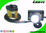 Anti Explosive Miners Helmet Light 25000 Lux Illuminance With 10.4Ah Battery