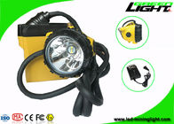 China SAMSUNG Battery Led Miners Cap Lamp IP68 Waterproof 25000 Lux Brightness Rechargeable factory
