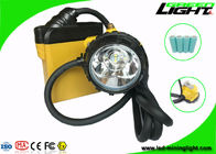 SAMSUNG Battery Led Miners Cap Lamp IP68 Waterproof 25000 Lux Brightness Rechargeable