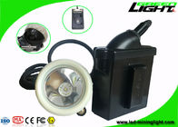 Rechargeable Underground LED Mining Light 6.6Ah 4000 Lux 1000 Battery Cycles