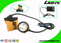 Hight Lightness Led Miners Light , 25000lux Rechargeable Miners Headlamp IP68