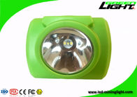 China USB Charging 13000lux LED Mining Light PC Beam Safety OLED Screen With Push Button factory