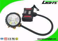 Underground Led Mining Headlamp GLS12-A 15000lux Anti - Explosive Rechargeable