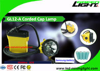 China Sole Design 25000 Lux Cree LED Miners Light Impact Resistant With Cable Toughened Glass factory