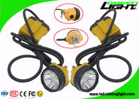 China IP68 Water Proof 25000lux Rechargeable Mining Hard Hat LED Lights With 10.4Ah Capacity factory