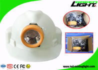 ABS Material Led Mining Cap Lamp 10000lux Brightness Anti Explosive With USB Charger