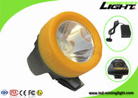 3.7V Rechargeable Hard Hat LED Lights , Miners Cap Lamps Cordless ABS Material