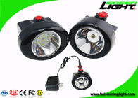 10000 Lux IP67 Cordless Mining Lights Cap Lamp 2.8Ah Battery Plug - In Charging Way