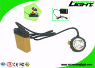 25000lux Brightness Miners Helmet Light IP68 Anti Explosive 1200 Battery Cycles