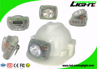 Lightweight Coal LED Mining Light Small Size 13000lux Strong Brightness PC Material