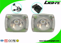 3.7V Undergroud Miners Cap Lamps Cordless Lightweight 6.8Ah Li - Ion Battery IP68