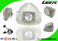 PC Beam Miners Helmet Light 13000lux Brightness Anti Explosive With USB Charging