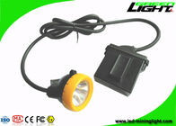 China Safety Miners Cap Lamp 7.8Ah Li - Ion Battery 10000Lux High Beam Corded Type factory