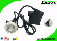 CE LED Mining Light IP68 Waterproof 6.6Ah Rechargeable Li - Ion Battery 10000lux Brightness