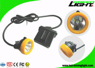 China CREE LED Mining Hard Hat Led Lights 10000Lux With Low Power Warning Function factory