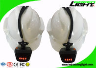 Safety IP68 LED Mining Light 8000lux Brightness 5.7Ah Battery 1000 Cycles CE Approval