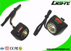 China Integrated Cordless Mining Lights CREE LED 5.7Ah 8000lux Digital Screen Helmet Lamp factory