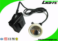 10000Lux High Beam Anti-explosive Safety Underground Corded Cap Lamp, 6.6Ah Rechargeable Li-ion Battery Led Headlight