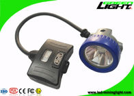 Semi Corded Mining Cap Lights 10000Lux 5.2Ah Big Capacity Lightweight IP68 Waterproof