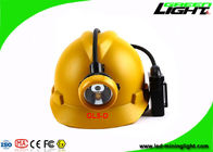 Rechargeable Coal Mining Lights Headlamp Waterproof  10000Lux With USB Charging Cable