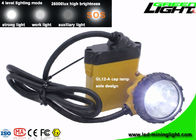 25000 Lux Rechargeable Underground Coal Mining Lights Waterproof 2A Charging Current Support SOS