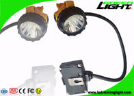 High Brightness Cree Led Headlamp Rechargeable Low Power Warning For Miner Semi - Corded